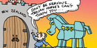 View: Herald on Sunday Cartoon: Ride the horse