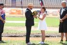 Jetsprinters Chris Bowman and Lisa Waits-Webb, from the USA, got married at the Tauranga leg of the World Jetsprint Champs. Photo/John Borren