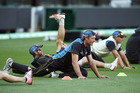 Martin Guptill is a doubtful starter today after turning an ankle in training. Photo / Getty Images