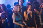 Zoey Deutch and Aubrey Plaza in a scene from the film, Dirty Grandpa.