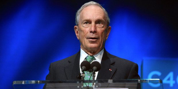 Michael Bloomberg is considering making an independent bid for the United States presidency. Photo / AP
