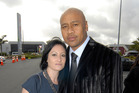Nadene and Jonah Lomu.