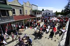 Crowds enjoying the National Jazz Festival at the Tauranga Historic Village. Photo/file