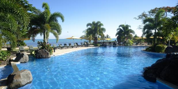 Sheraton Samoa Aggie Grey's Resort.