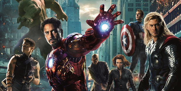 American superhero film The Avengers was produced by Marvel Studios and distributed by Walt Disney Pictures.