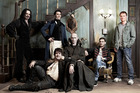 The cast of the New Zealand film, What We Do in the Shadows.