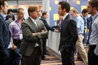 Left to right: Steve Carell plays Mark Baum and Ryan Gosling plays Jared Vennett in The Big Short. Photo / Supplied