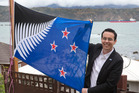 Prime Minister John Key wants a new flag, and said he would vote for the Kyle Lockwood-designed Silver Fern (Black, White and Blue). Photo / Mark Mitchell