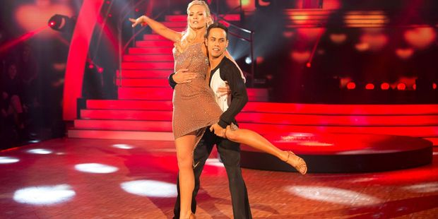 Dancing with the stars Chrystal Chenery and Jonny Williams .