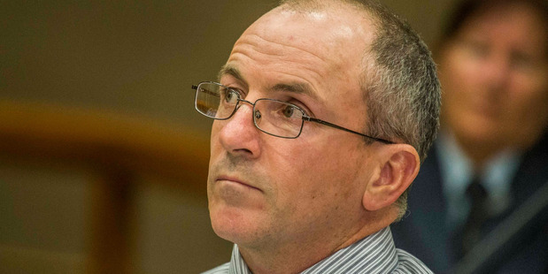 Scott Watson in High Court in Christchurch May 20, 2015.  Pool Photo / John Kirk-Anderson