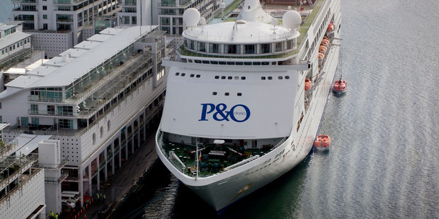 The P&O Pacific Pearl. Photo / Sarah Ivey