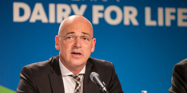 Theo Spierings is focused on recovery of dairy demand. Photo / Jason Oxenham