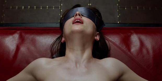 Anastasia Steele played by Dakota Johnson.
