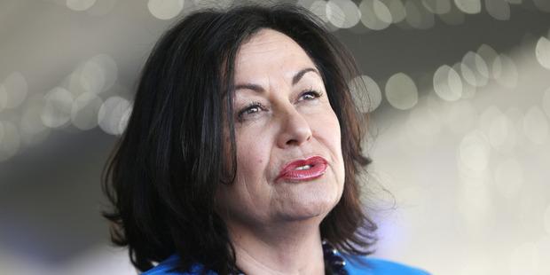 Education Minister Hekia Parata said she informed the trust of Te Pumanawa o te Wairua of her decision on Tuesday. Photo / Doug Sherring