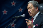Northland MP and New Zealand First leader Winston Peters.