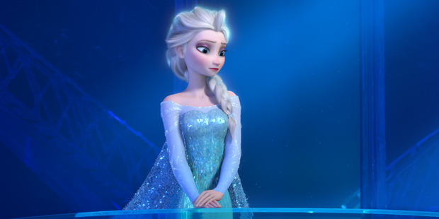 A scene from the movie Frozen.
