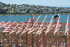 Residential building consents increased in 2015, but not as strongly as in previous years. Photo / NZME