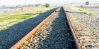 Railway lines near Westshore, Napier. Photo / Paul Taylor