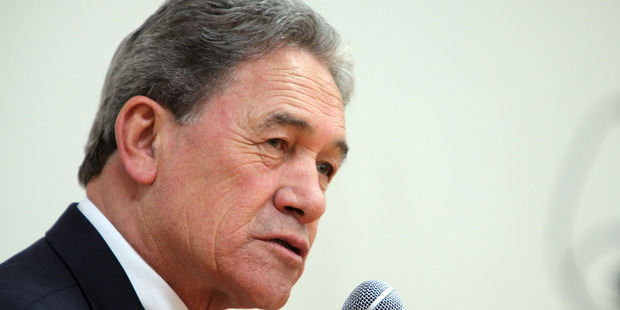 Winston Peters was more than an hour late, leading others to fill the gap.
