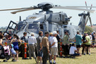 Thousands attended the Royal New Zealand Air Force open day at Hawke's Bay Airport yesterday. Photo/Paul Taylor