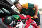 GOING PLACES: Ben Wheeler packs his gear before leaving with CD for New Plymouth on Thursday. PHOTO/Duncan Brown