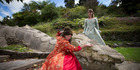 Scenes from the play, As You Like It at Te Puna Quarry. Photo/Penelope Coleman