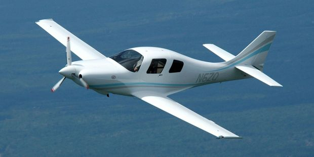 Bill Harrelson's Lancair IV plane, which he and wife Susan built. PHOTO/SUPPLIED
