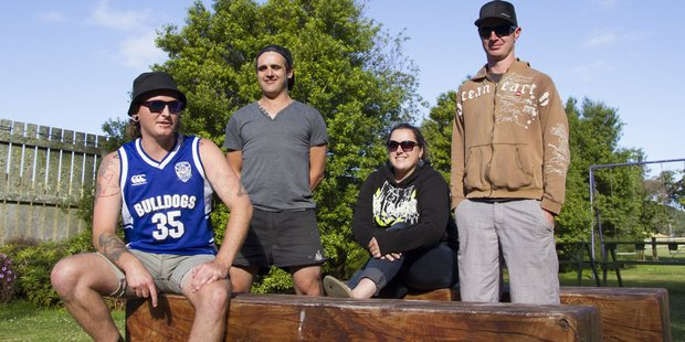 The new Circa line-up includes (from left) Jordan Tredray, Sam Mitchell, Holly McGeorge and William Green. PHOTO/ANDREW JOHNSTONE