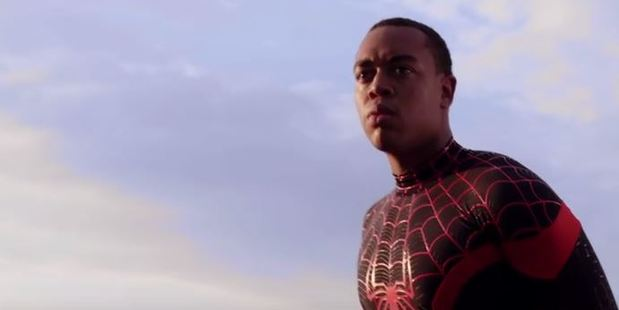 24-year-old actor Demetrius Stephens plays a biracial Spider-Man in the new short film Spider-Man Lives: A Miles Morales Story.