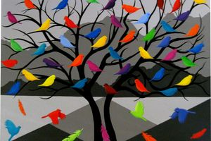 Birds of a Feather (detail) by Judi Soutar is part of an upcoming exhibition at the Turner Centre.