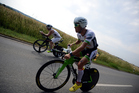 As you head back into work, review your objectives and your team's - are they making you uncomfortable? Or are you self-limiting your performance? Photo / Frederik Van Lierde (R) of Belgium during the bike section of Ironman European Championships Frankfurt Photo by Nigel Roddis/Getty Images for Ironman)