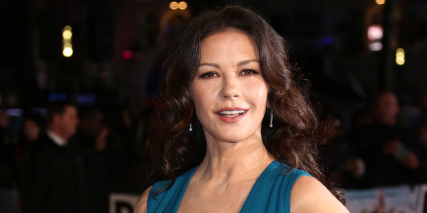 Mother of two and wife to Michael Douglas, Catherine Zeta-Jones reveals how she maintains youthful skin. Photo / AP