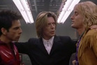 A scene from the original Zoolander movie, featuring David Bowie.