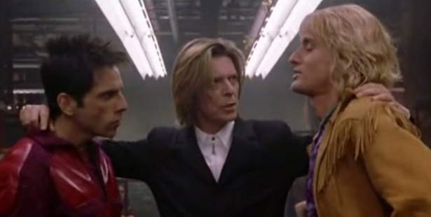 Loading A scene from the original Zoolander movie, featuring David Bowie.