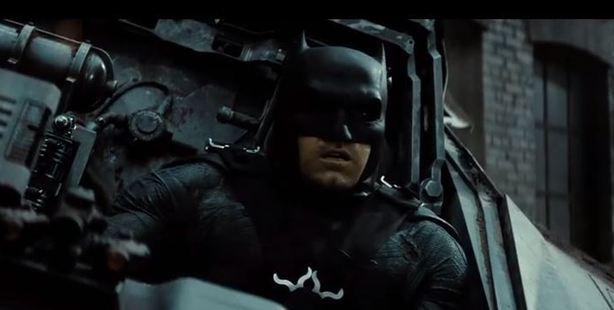 Ben Affleck's Batman becomes the jury and executioner.