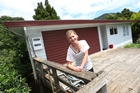 Tracey Whittaker in front of her newly purchased three-bedroom home in Kamo. Photo / Michael Cunningham