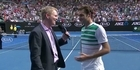 Watch: Federer's accidental dig at Jim Courier
