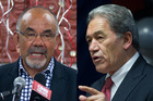 Maori Party co-leader Te Ururoa Flavell (left) issued a press release today titled,