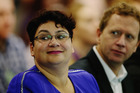 Co-leader of the Green Party Metiria Turei and former co-leader Russel Norman. Photo / Getty Images