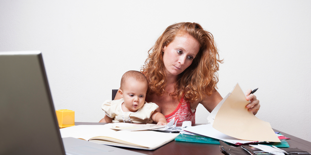 Lindsay Mitchell says moving into work may provide little financial gain initially. Photo / iStock