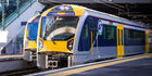 Two trains at the Panmure Station. Image / iStock