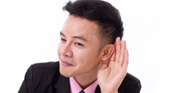One common belief is: I must be listening if I'm not talking, this in fact, is not true. Photo / iStock