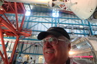 Kennedy Space Centre is holy ground for Paul Charman. Photo / Supplied