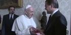 Watch: Leonardo DiCaprio meets the Pope