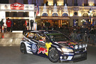 Jari Matti Latvala at the 84th Rally of Monte Carlo. Photo / AP