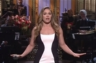The former UFC women's bantamweight champion hosted the famed comedy show Saturday Night Live. Source: NBC