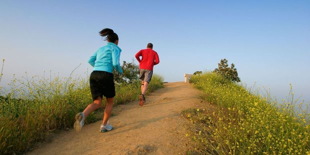 Jogging at Runyon Canyon is a great way to combine exercise and star-spotting. Photo / 123RF