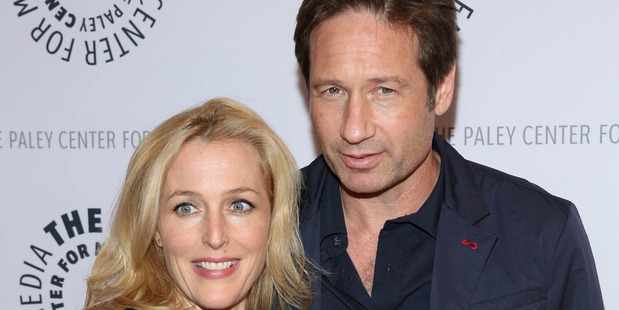 Loading Gillian Anderson was offered half of co-star David Duchovny's wage to return to The X-Files. Photo / Getty