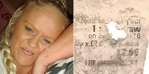 Susanne Hinte claims she accidentally put her ticket in the laundry.