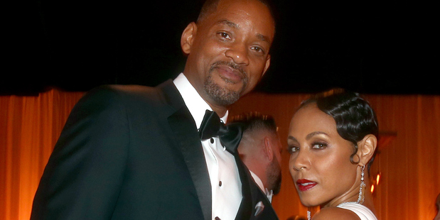 Will Smith with his wife Jada Pinkett Smith who have been married since 1997. Photo / Getty